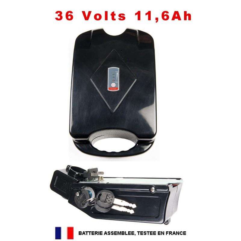Batterie 36V 11,6 Ah sous-selle