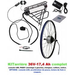 Kit 36V LIGHT ARRIERE BATTERIE PORTE-BAGAGE 17,4A
