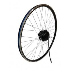 roue motorisée pour kit vélo électrique coup de pouss