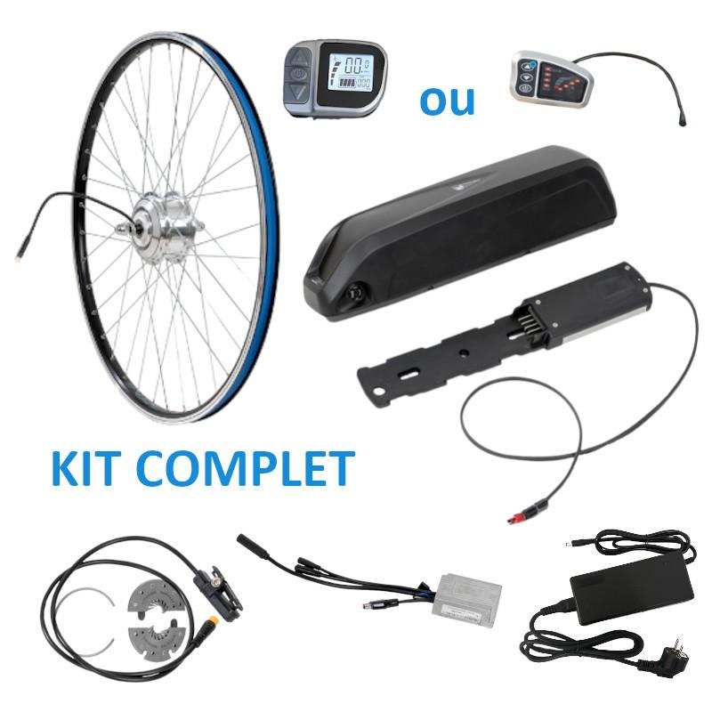 kit complet avant avec batterie cadre pour vélo électrique