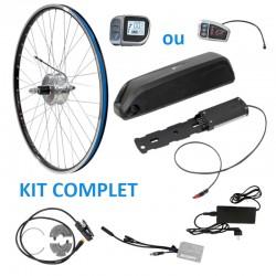 kit complet arrière avec batterie cadre pour kit vélo électrique