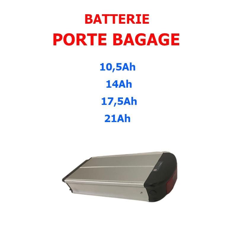 batterie porte bagage 33V pour kit vélo électrique