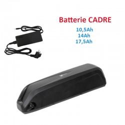 batterie cadre 33V pour kit vélo électrique VTT